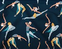 """Suspended Rhythm""   dancers pattern"