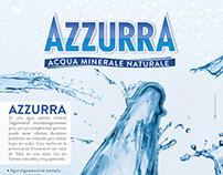 Azzurra: Aviso 1 pagina Revista AG