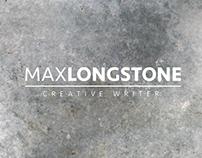 Brand Identity | Max Longstone. Writer