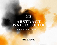 Free DEMO Abstract Watercolor Background