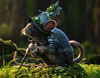 3d model render mouse