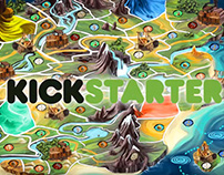 Video promo for board game on kickstarter ( 9-2015 )