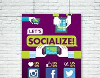 Let's Socialize!