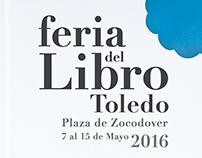 Cartel Feria del libro de Toledo 2016