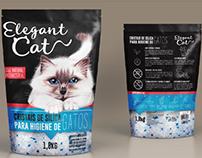 Design de embalagem para Elegant Cat
