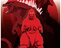 Godzilla Tribute Poster