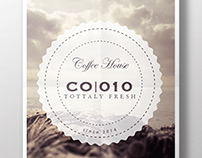 Coffee Shop Logo Branding