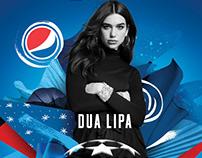 Danny Clinch: Pepsi Football Dua Lipa