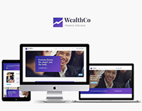 WealthCo | Business & Financial Consulting WordPress Th
