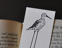Greater Yellowlegs Bookmark