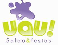UAU! SALÃO DE FESTAS | IDENTIDADE VISUAL