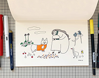 Line Drawings | Personal Work