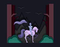 Knight (vector illustration)