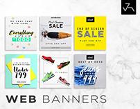 Web Banners - V1 - Jensonart