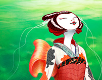 MaiKoi (Character Design Challenge 2016 07)