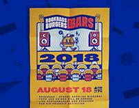Bookbags, Burgers, and Bars (2017-2018)