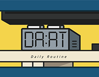 Daily Routine Illustration