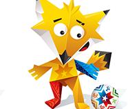 Armado Corpóreo Mascota Zincha /Copa América 2015