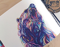 Claudine O'Sullivan - WeTransfer Illustrations