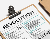 Revolution • Web Design • Branding
