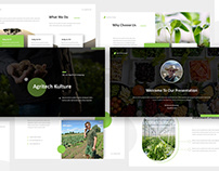 Agritech - Agriculture Keynote Template