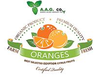 Agro Alex Orange wrapping paper