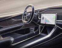 Tesla 1 interior