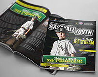 Baseball Youth Magazine Design and Layout