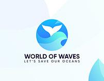 World Of Waves Branding