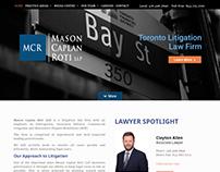 Mason Caplan Roti LLP – Toronto Litigation Law Firm