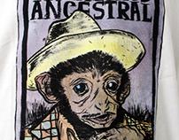 Ilustração de estampas para a marca Ancestral