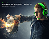 Kraken Tournament Edition Campaign - Photo Shoot