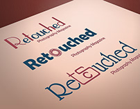 Retouched Magazine Logo Design