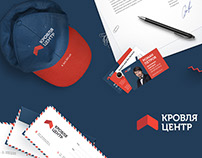 Corporate identity Krovlya-centr