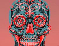 Calavera Skull pr.1