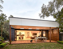 Step Down House by Bijl Architecture