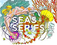 Seas & Serifs Coloring Book