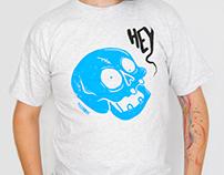 Serigraphie tee-shirt Hey