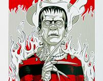 Freddykenstein for Villainz by KRÜW