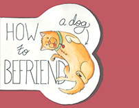 How to Befriend a Dog : Illustrated Book