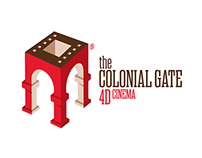 Colonial Gate 4D Cinema,  Brochure Design.