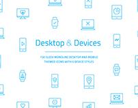 Desktop & Devices Icon Set