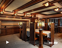 Frank Lloyd Wright Robie House - Behind the Scenes