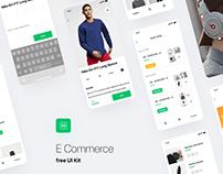 E-Commerce UI Kit - FREE