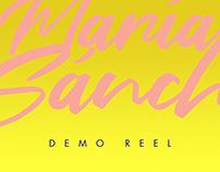 María Sánchez Demo Reel 2019