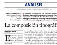 La composición tipográfica