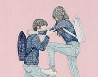 2017, balance, illustration