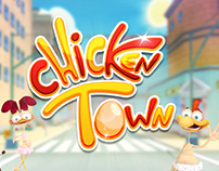 CHICKEN TOWN - Video Game Trailer