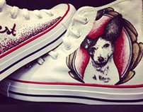 Hand Painted Custom Converse
