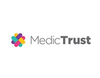 Redesign medic-trust app (concept)